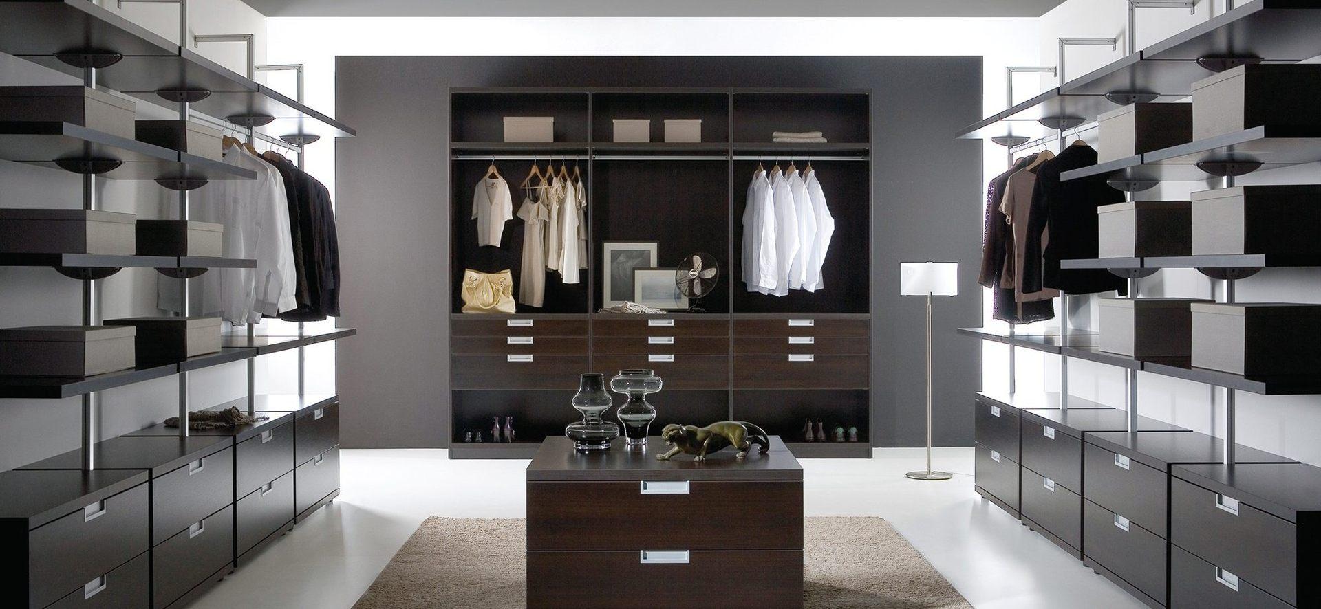 Begehbare Kleiderschränke – Inspiration | Sommerlad